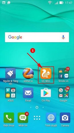 cach tat thong bao uc browser mini