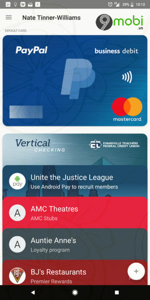 them paypal business debit mastercard vao android pay 2