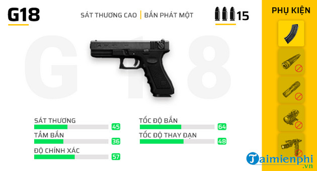 top 5 sung free fire toc ban nhanh nhat 2