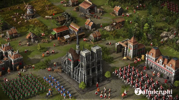 top game pc hay nhu age of empires