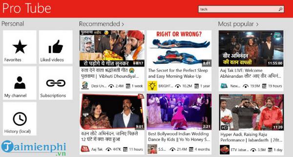 Top ứng dụng YouTube dành cho Windows 10 1