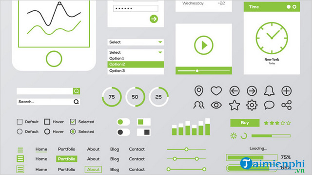 nen su dung User Interface o dau