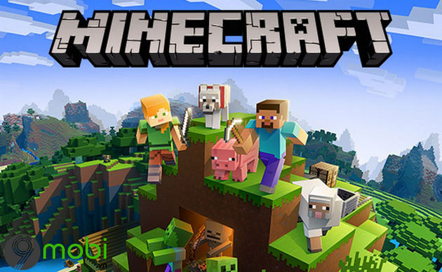 game sinh ton minecraft tren dien thoai android iphone