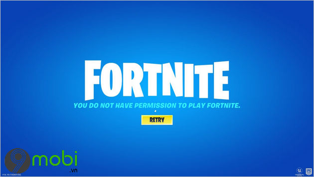 loi you do not have permission to play fortnite