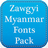 download Zawgyi Myanmar Fonts Pack cho Android