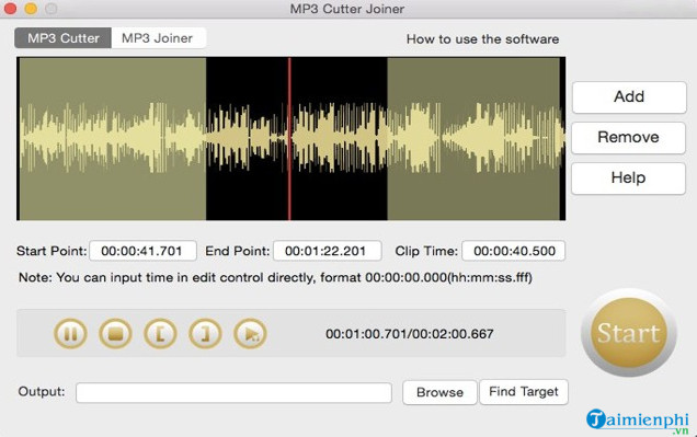 free mp3 cutter joiner for mac