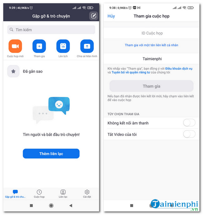 download zoom cho android