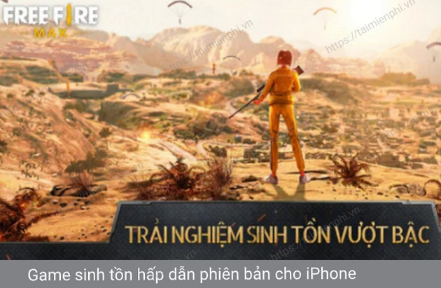 /free fire max iphone