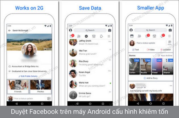 /facebook lite android