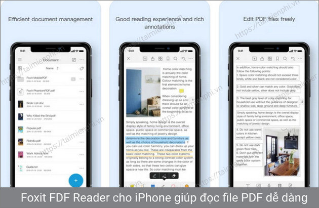 foxit reader iphone