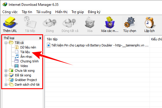 tai Internet Download Manager