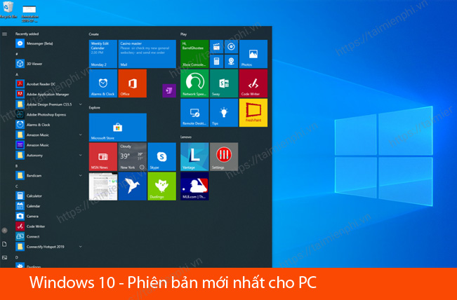 tai windows 10 moi nhat