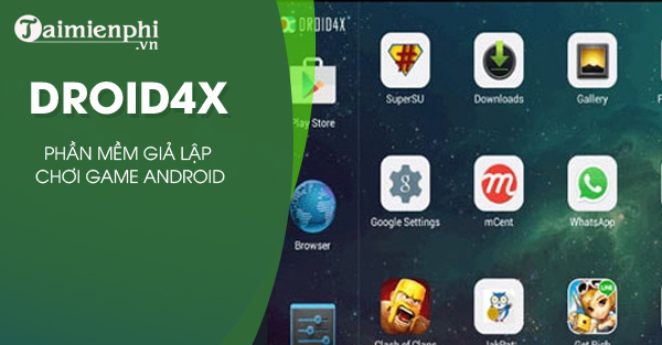download droid4X