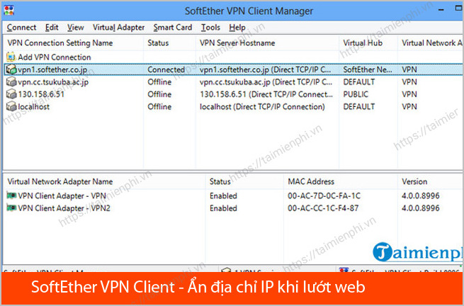 Tải SoftEther VPN Client