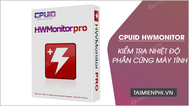 Download CPUID HWMonitor