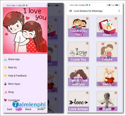Download Awesome Romantic Love Stickers