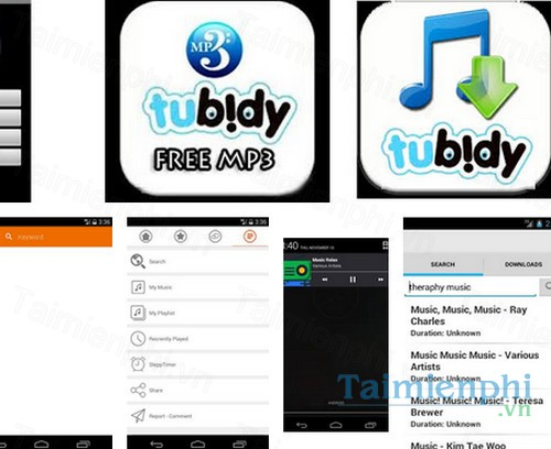 Tubidy MP3 Music Free for Android